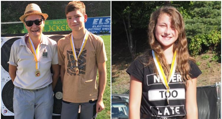Tir à l'arc : trois podiums tavannois aux championnats de Suisse