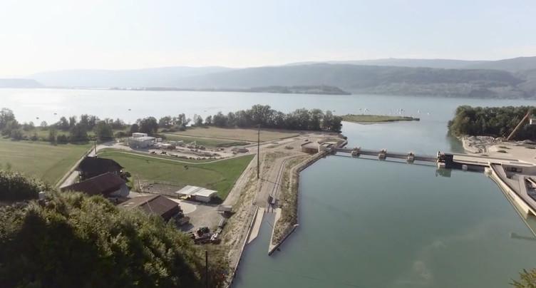 Huit kilos de micropolluants charriés chaque jour dans le lac de Bienne