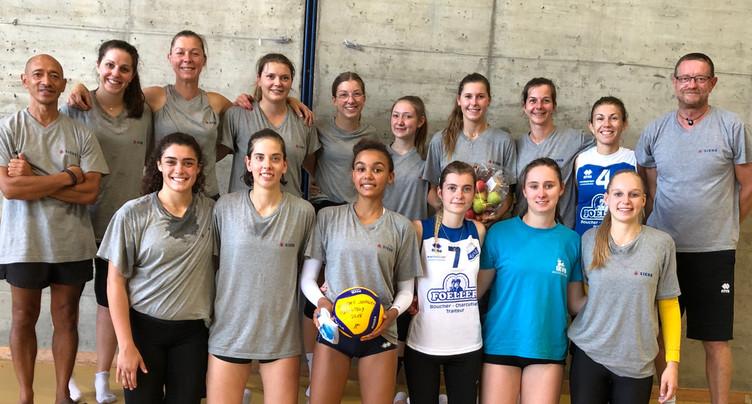 Les Alsaciennes gardent la main sur le Trophée jurassien de volley-ball