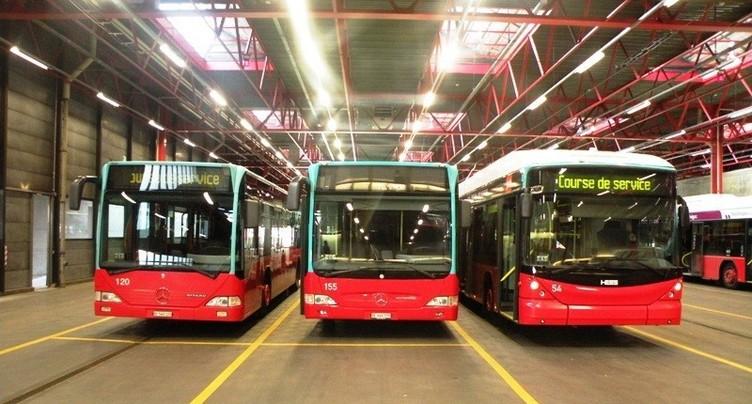 Nouveaux itinéraires de bus en Ville de Bienne