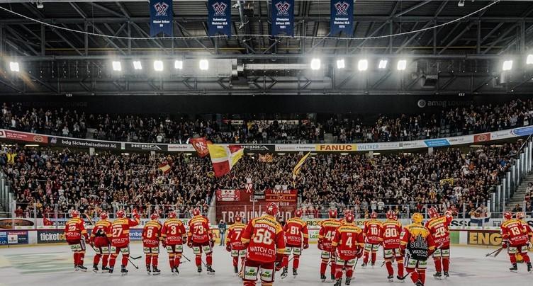Un manque à gagner à six chiffres pour le HC Bienne