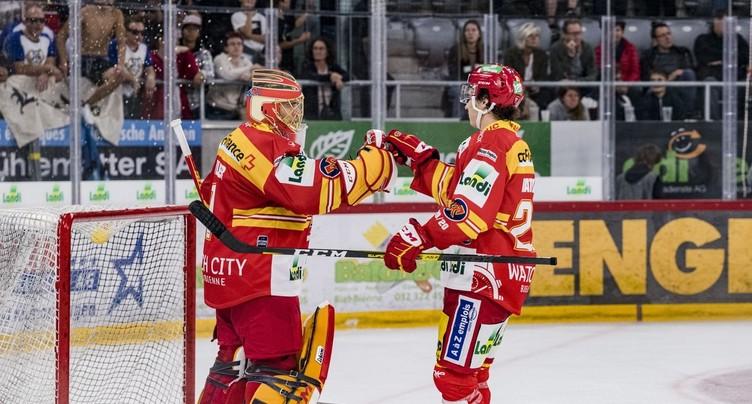 Le HC Bienne tient son match référence