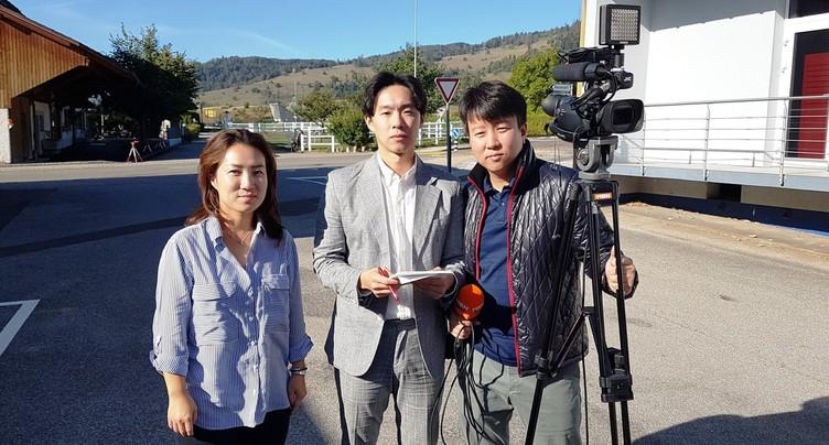 Une TV coréenne étudie le projet de géothermie profonde
