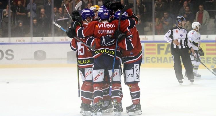 Le HC La Chaux-de-Fonds se paye Kloten et poursuit sa belle dynamique