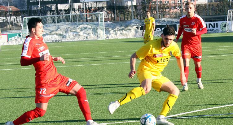 Une arrivée au FC Bienne