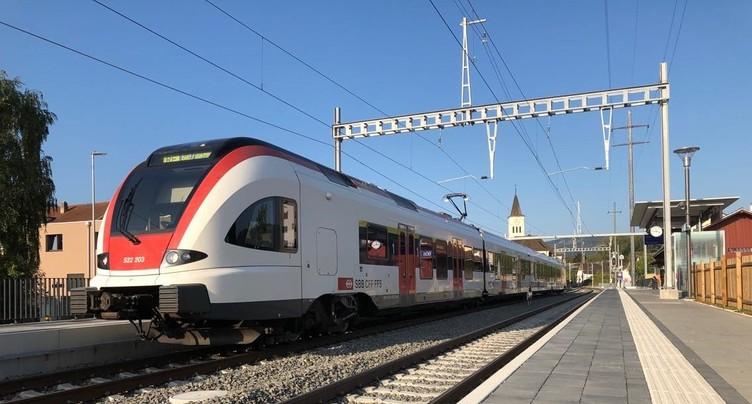 La gare de Bassecourt inaugure son nouveau visage