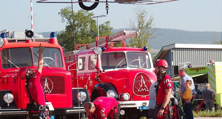 Les sapeurs-pompiers soufflent sa centième bougie