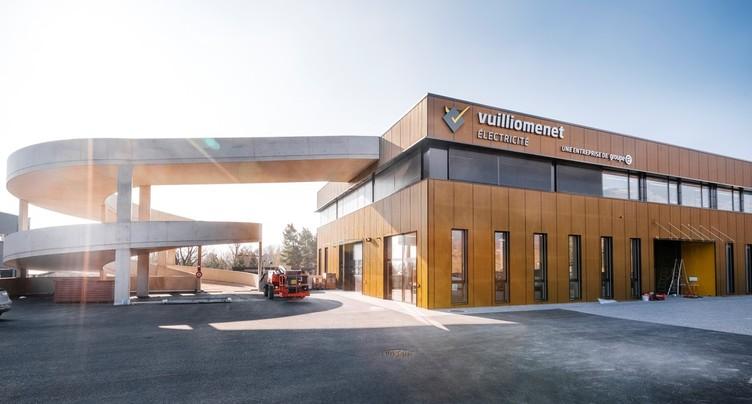 12 millions de francs pour le nouveau bâtiment du Groupe E dans le canton