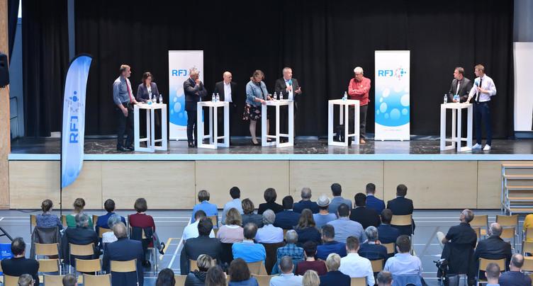 Fédérales 2019 : le grand débat public à Glovelier