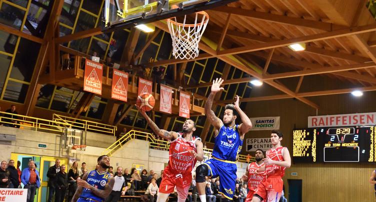 Le match Riviera – BC Boncourt reporté