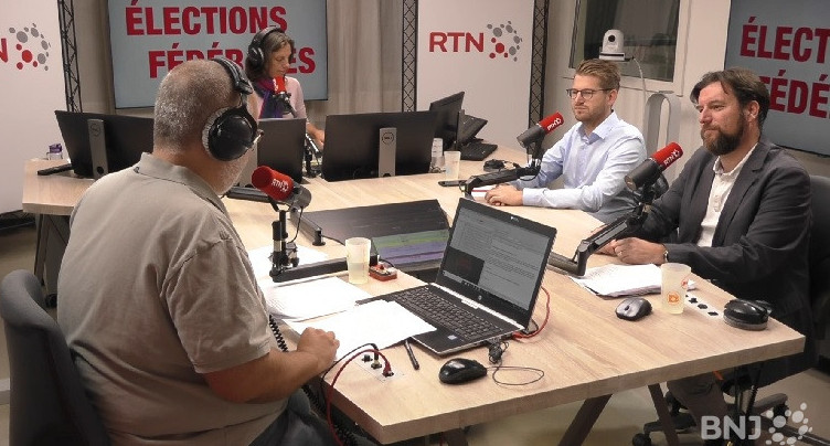 Débat fédérales : Didier Boillat et Baptiste Hurni