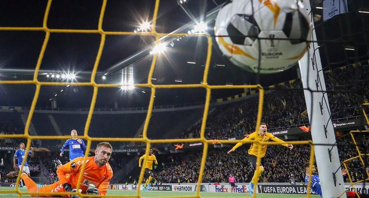 Europa League: YB s'impose, Bâle et Lugano font match nul