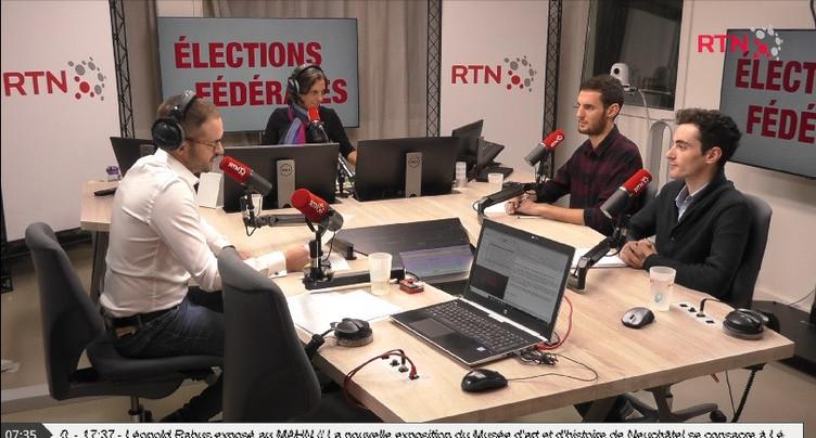 Débat fédérales : Nicolas Jutzet et Tristan Robert