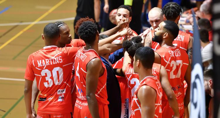 Le BC Boncourt face à Genève en Coupe de Suisse