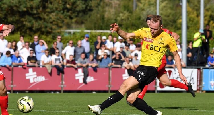 Un FC Bassecourt réaliste domine des SR Delémont en panne d'inspiration
