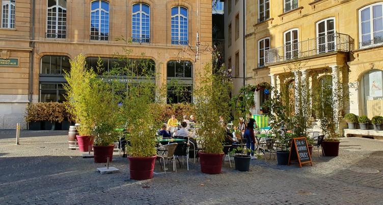 Un concept pour dynamiser les terrasses de Neuchâtel l'hiver