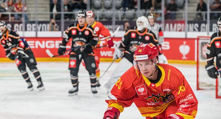 Le HC Bienne qualifié pour les 8es de finale de la Ligue des Champions