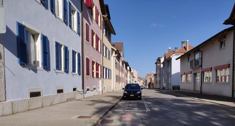 St-Imier : la rue des Jonchères perturbée encore un mois