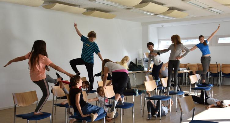 Un doux mélange entre danse et arts visuels