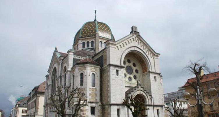 Plus de sécurité pour la synagogue