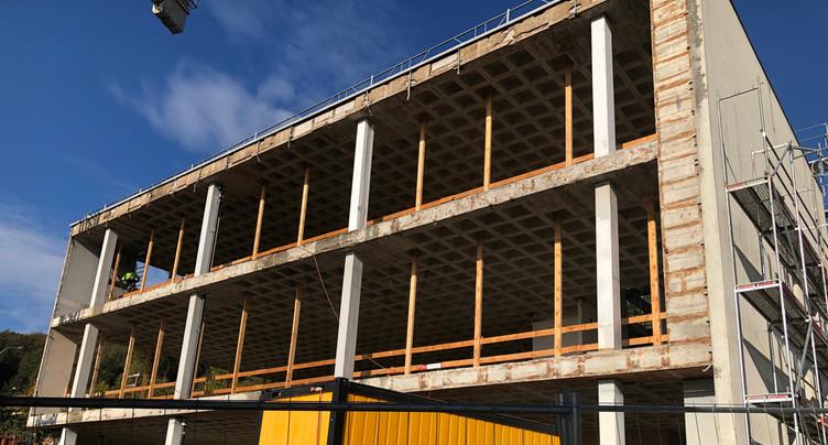 Une vingtaine de nouveaux logements à La Coudre fin 2020