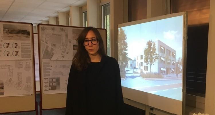 Un petit air parisien pour le futur de l'école de Courrendlin