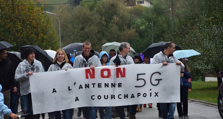 Courchapoix se mobilise contre la 5G