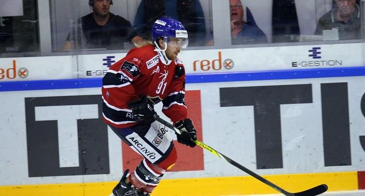 Le HC La Chaux-de-Fonds essuie une quatrième défaite consécutive