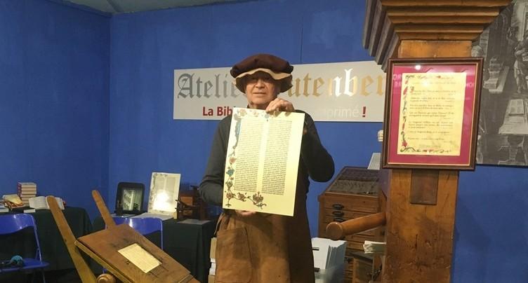 Les héritiers de Gutenberg à la Foire du Jura