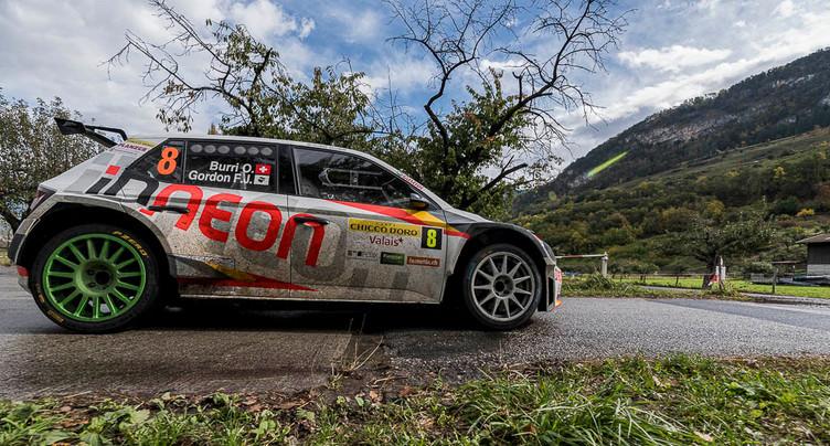 Olivier Burri dit adieu au Rallye du Valais sur un 9e sacre
