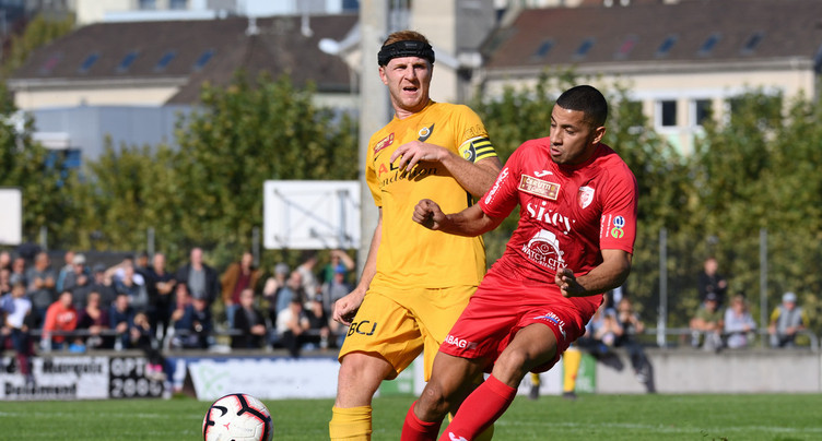 Le FC Bienne trébuche à Delémont