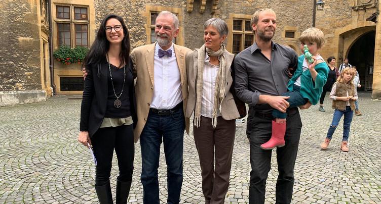 Céline Vara et Fabien Fivaz quitteront leur siège en novembre