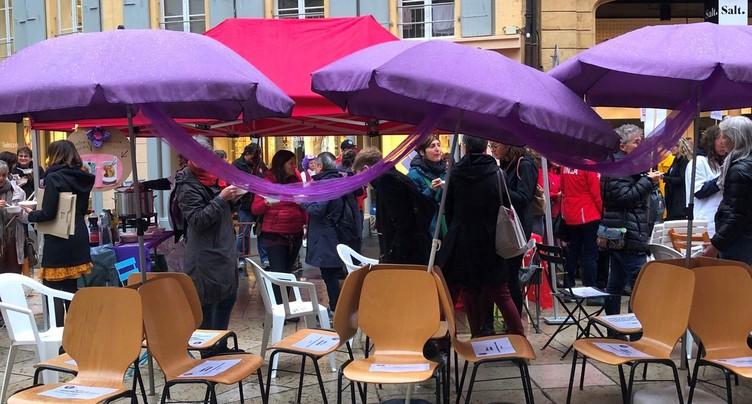 Femmes en colère à Neuchâtel
