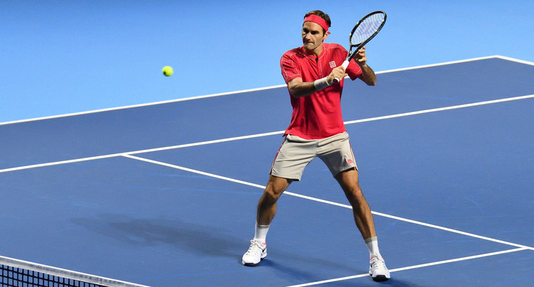 Roger Federer tout en douceur