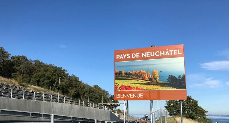 Nouvelles images de bienvenue pour Tourisme neuchâtelois
