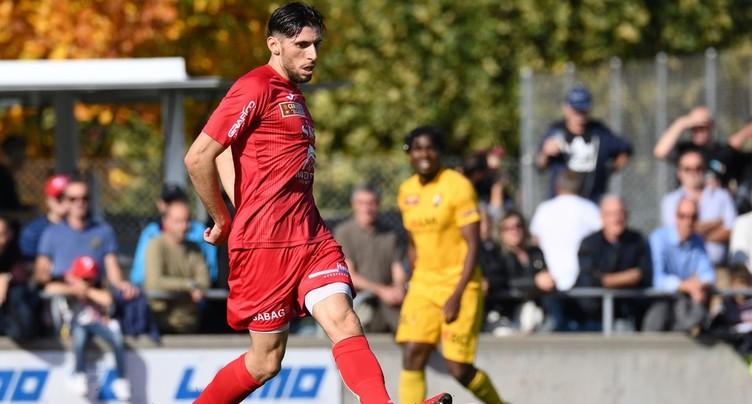 Le FC Bienne conserve Anthony De Freitas