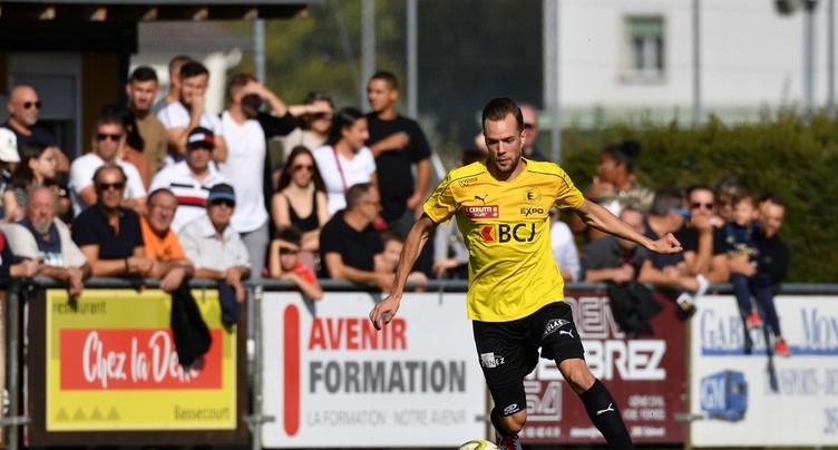 Lionel Martin retourne au FC Bassecourt