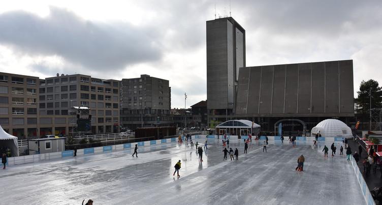 On patinera à ciel ouvert cet hiver à Bienne