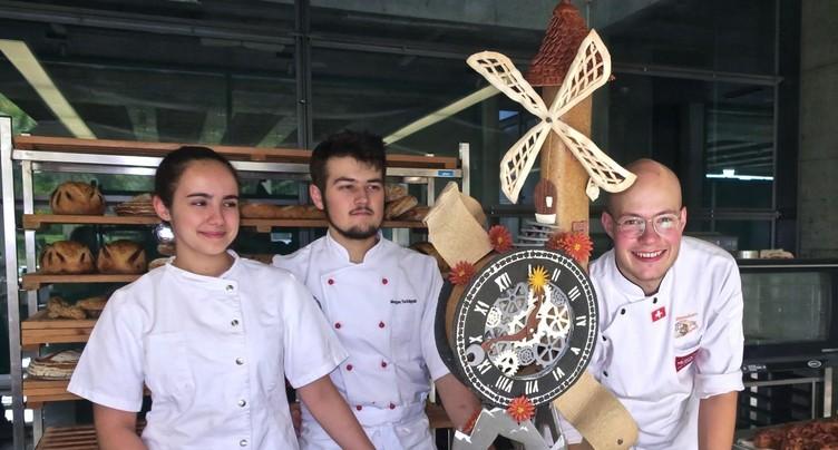 Pas de podium pour l'équipe interjurassienne à la coupe d'Europe de boulangerie