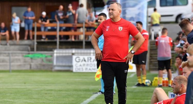 Lourd revers pour le FC Courgenay