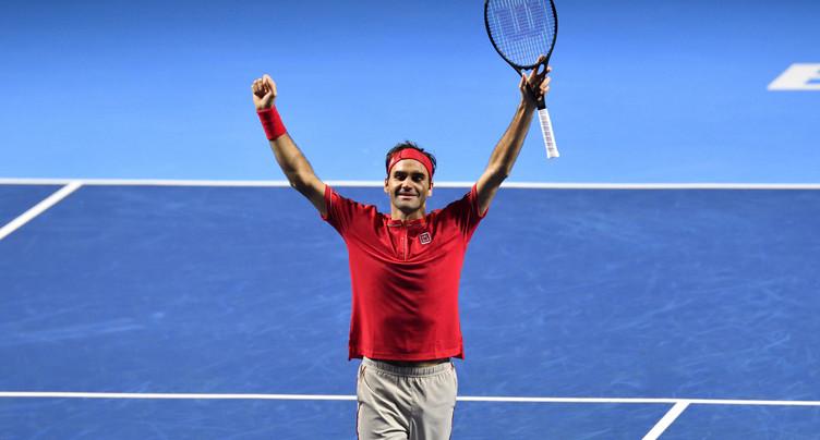 Roger Federer de justesse