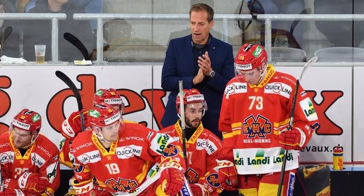 Antti Törmänen retrouve le HC Bienne
