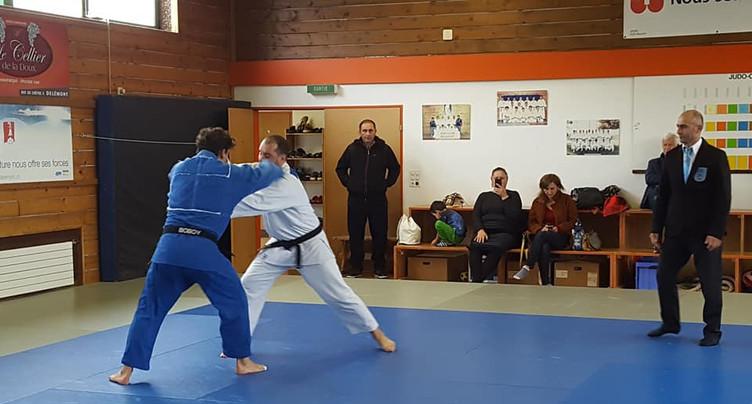 Judo Jura au pied du podium