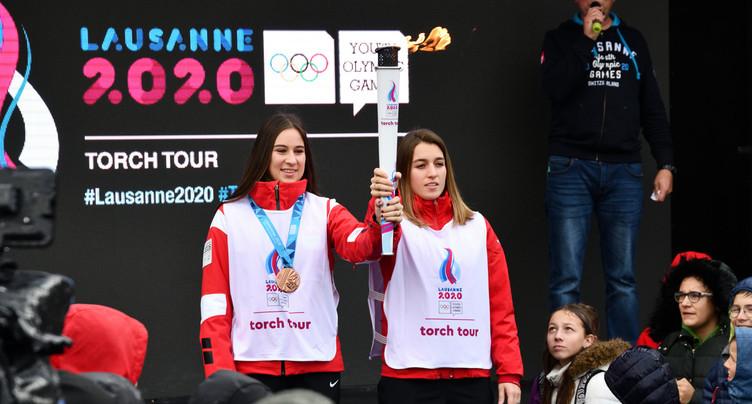 La flamme olympique est passée à Porrentruy