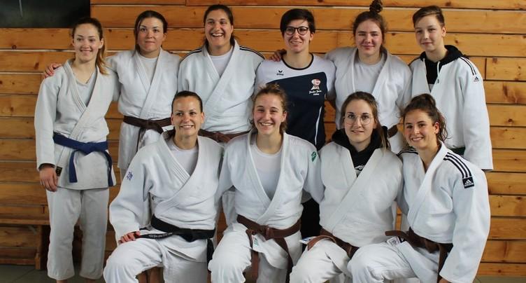 Des judokates proches de la Ligue A