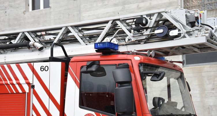 Incendie à Bienne : un homme placé en détention