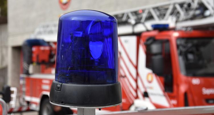 Incendie dans une maison à Saignelégier