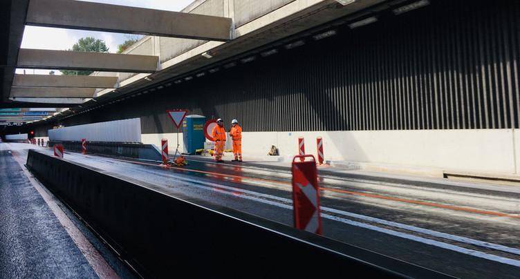 Fermeture de l'autoroute entre Neuchâtel-Serrières et St-Blaise