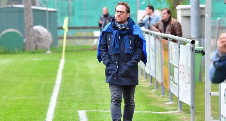 David Quain nommé entraîneur du FC Haute-Ajoie