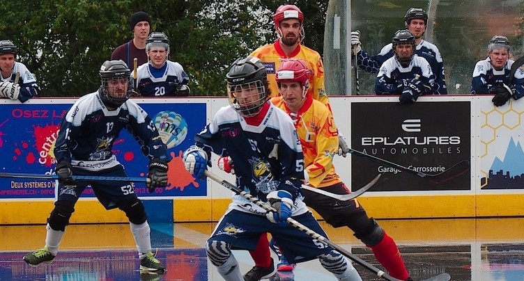Le Streethockey club impuissant contre le leader